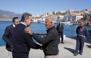 Τη σύσταση Επιτροπής Μικρών Νησιών πρότεινε από το Καστελόριζο  ο Μανώλης Γλυνός