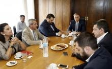 Πρώτη συνάντηση του νέου Υπουργού Εσωτερικών με τους  Περιφερειάρχες