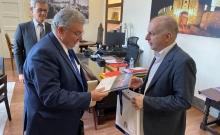 Με τον ΓΓ Απόδημου Ελληνισμού ο Δήμαρχος