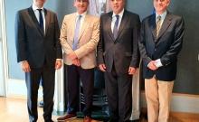 Με τη νέα πολιτική ηγεσία του Υπουργείου Τουρισμού ο Περιφερειάρχης