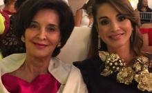 Διακοπές στη Σύμη για την μητέρα της Βασίλισσας Ράνια της Ιορδανίας