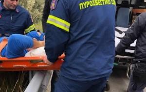 Διασωληνωμένος ο 52χρονος οδηγός του σχολικού μεταφέρθηκε στην Κρήτη
