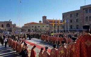 Με θρησκευτική ευλάβεια τιμήθηκε ο πολιούχος Κωνσταντίνος ο Υδραίος