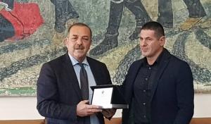 Βραβεύτηκε από το Δήμο Ρόδου ο πρωταθλητής μας Αναστάσιος Λαουδίκος