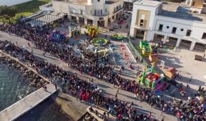 Πλήθος κόσμου στις  αποκριάτικες εκδηλώσεις στη Λέρο