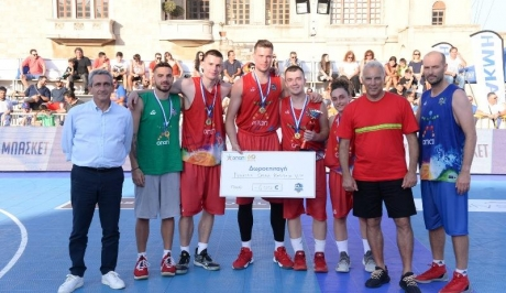 Ολοκληρώθηκε με επιτυχία το «Galis Basketball 3on3»